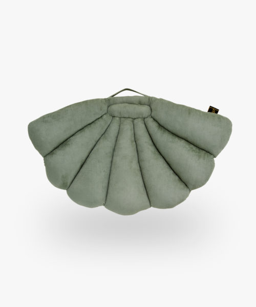Coussin coquillage Eucalyptus